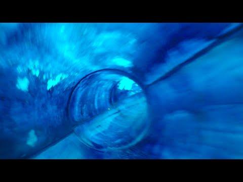 Hawaiian Adventures Blue Slide - Island Water Park - Fresno, CA