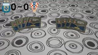 2 desafio panini rusia 2018 argentina vs croacia