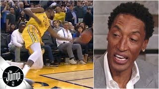 Scottie Pippen on huge Kevin Durant missed call: Refs 'must be a fan of the Warriors' | The Jump