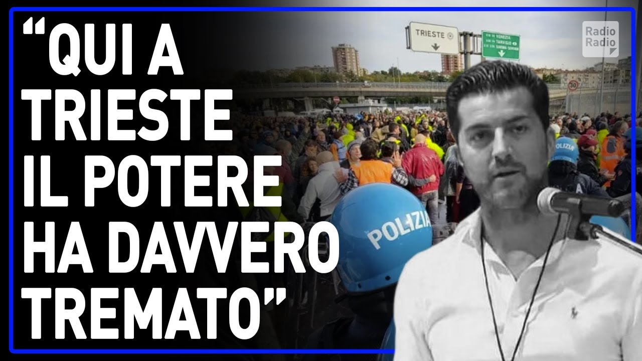 """FRANCESCO AMODEO INCONTENIBILE IN PIAZZA A TRIESTE ▷ """"AVETE TERRORIZZATO IL POTERE: VE LO ASSICURO"""""""