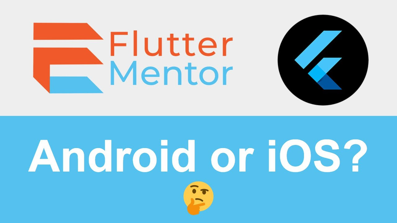 Show Content/Elements According To Platform (Operating System) - Flutter