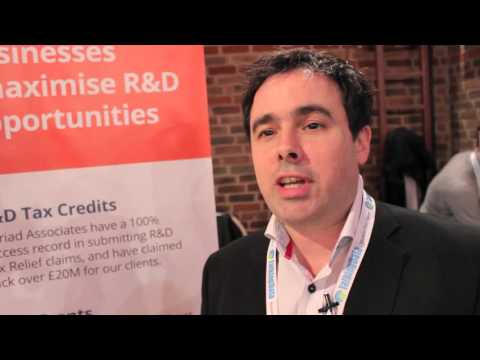 Myriad Associates' Barrie Dowsett on UK R&D tax credits