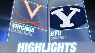 Virginia vs BYU   2014 ACC Football Highlights