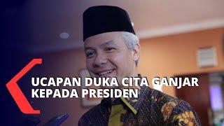 Gambar cover Ucapan Bela Sungkawa Ganjar Untuk Ibunda Jokowi