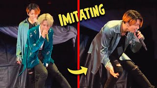 BTS Imitating each other :)