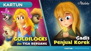 Goldilocks dan Tiga Beruang cerita anak anak animasi kartun