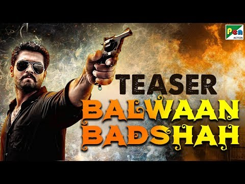 Balwaan Badshah | Hindi Dubbed Movie Official Teaser | Rakshit Shetty, Yagna Shetty