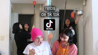 HAGO RETOS DE TIK TOK VIRALES
