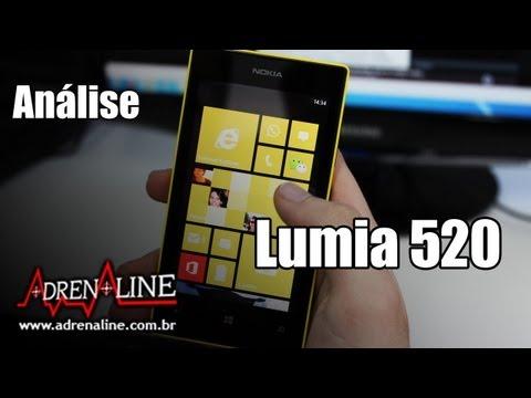 Análise: Nokia Lumia 520