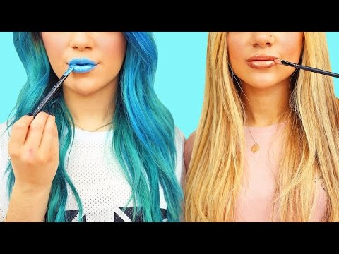 Thumbnail: DIY MakeUp/Beauty Life Hacks! Niki and Gabi
