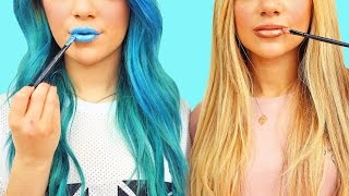 DIY MakeUp/Beauty Life Hacks! Niki and Gabi
