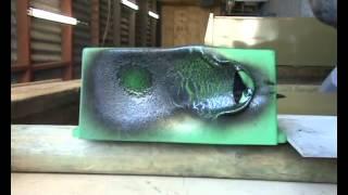 Polyethylene Burn Test