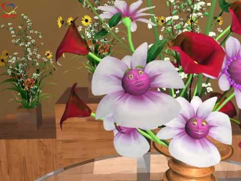 Singing flowers