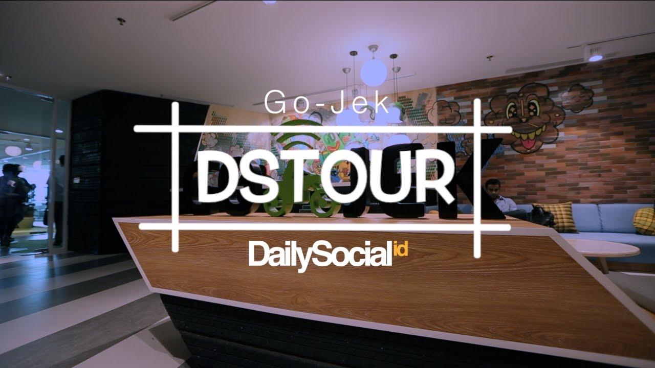 Begini isi kantor pusat Go-Jek | DStour #25 - YouTube