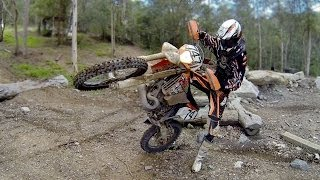 CROSS TRAINING: Pivot turns & floater turns a dirt bike