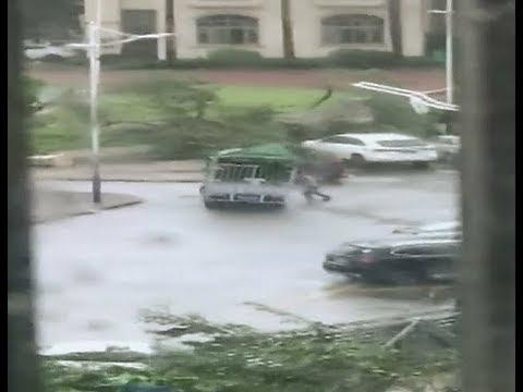 Typhoon Hato Wreaks Havoc in South China