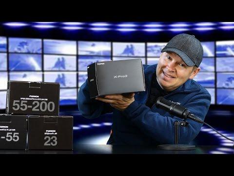 Fuji X-Pro2 + XF 23mm + XF 16-55mm + XF 55- 200mm Unboxing & Initial Impressions