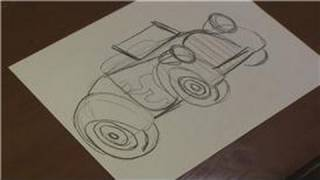 Drawing Vehicles : How to Draw a Car