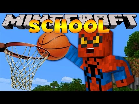 Minecraft School : BASKETBALL SPORTS DAY!