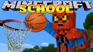 Minecraft School : BASKETBALL SPORTS DAY!
