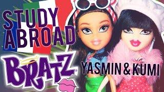 Bratz Study Abroad 2016 Kumi to Paris & Yasmin to Italy Doll Review!!!