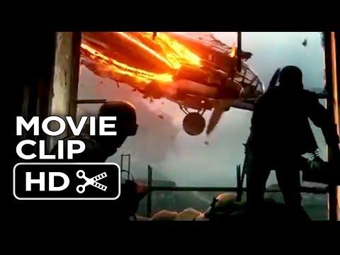 Stalingrad Movie CLIP - Plane Crash (2014) - Thomas Kretschmann WWII Movie HD
