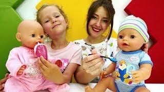 беби Борн Мальчик. Видео для детей Какие бывают Беби Борн Куклы для девочек