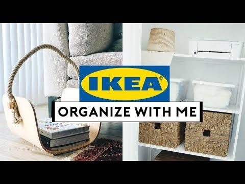 IKEA HOME ORGANIZATION IDEAS! IKEA ORGANIZE + SHOP WITH ME   Nastazsa