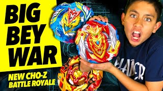beyblade new cho z battle royale
