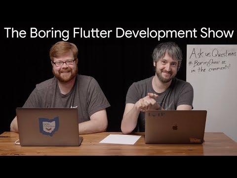 Influencing the Flutter SDK (The Boring Flutter Development Show, Ep. 13)