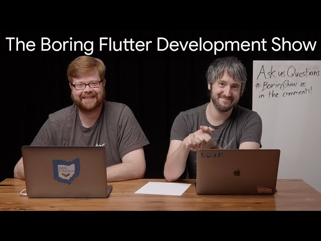 Influencing the Flutter SDK (The Boring Flutter Development Show, Ep. 13)