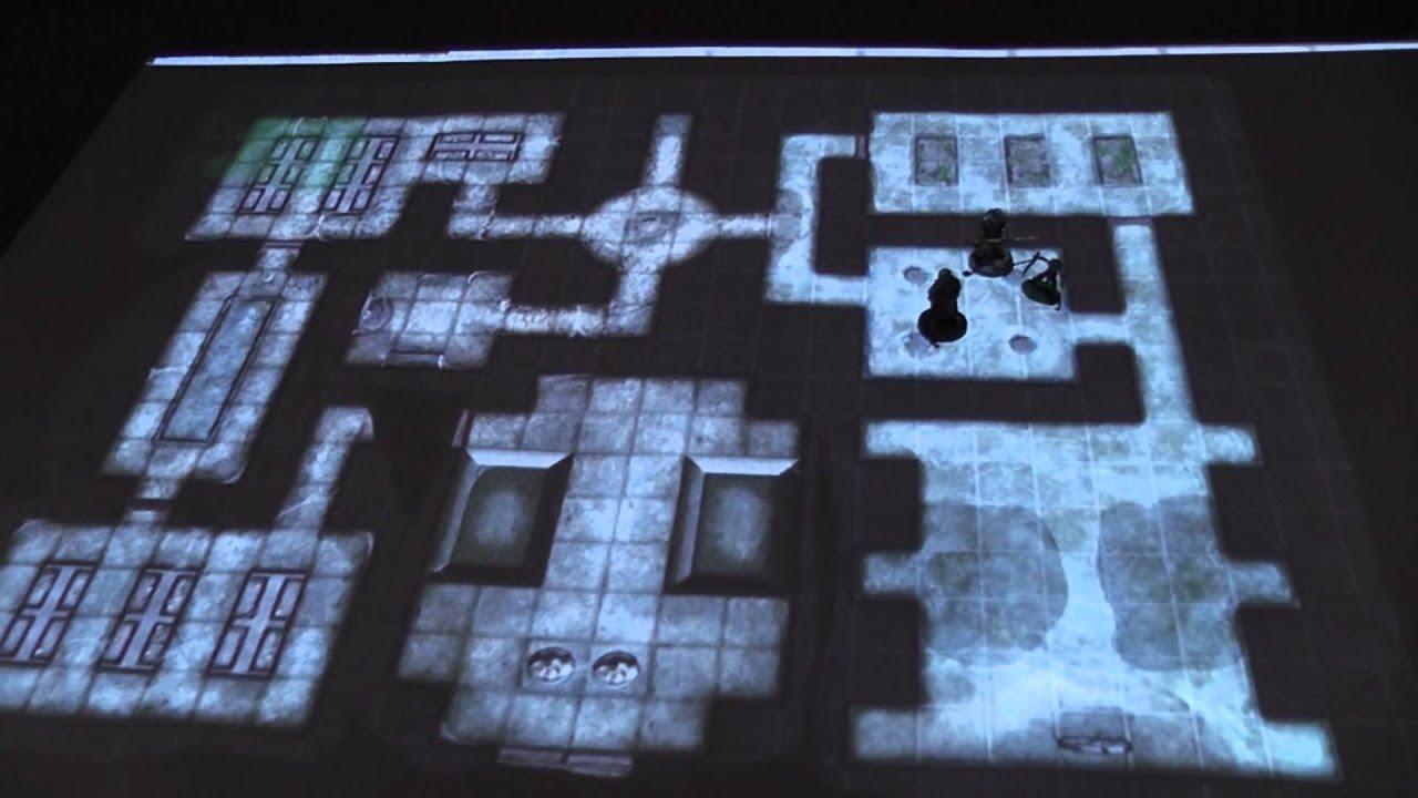 My Digital Gaming Table Setup Youtube