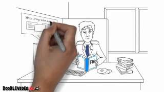 Рисованное видео Doodle видео