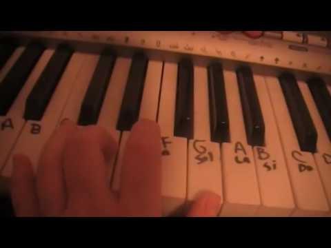 A puro dolor  Tutorial de Piano SON BY FOUR