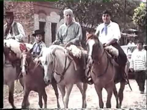 Peregrinacion de Paso de la Patria, llegada a San Cosme por el 98