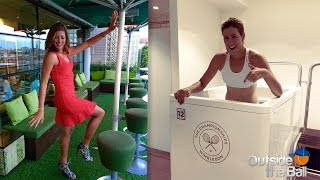 Wimbledon Finalist Garbine Muguruza Talks About Her Favorite Music, Hot Brownies And Nicknames