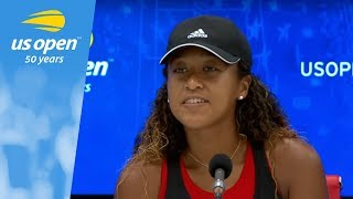 2018 US Open Press Conference Naomi Osaka