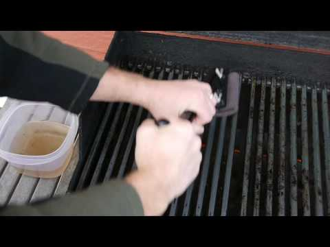 Grill Grubber Cleaning