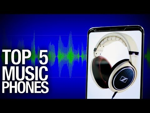 Top 5 Audio Smartphones of 2017! Candy for your ears!