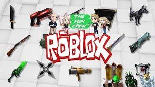 Die FGN Crew spielt: ROBLOX - Waffensimulator