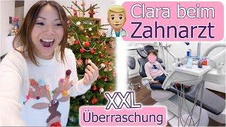 Unser neues XXL Sofa ist da! 😍 Clara beim Zahnarzt & Ohrringe bekommen | Mamiseelen