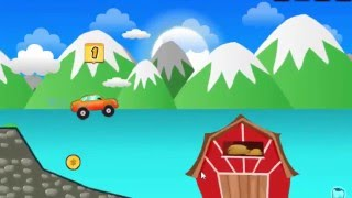 Онлайн игра гонки в деревне.  Бесплатные игры для детей