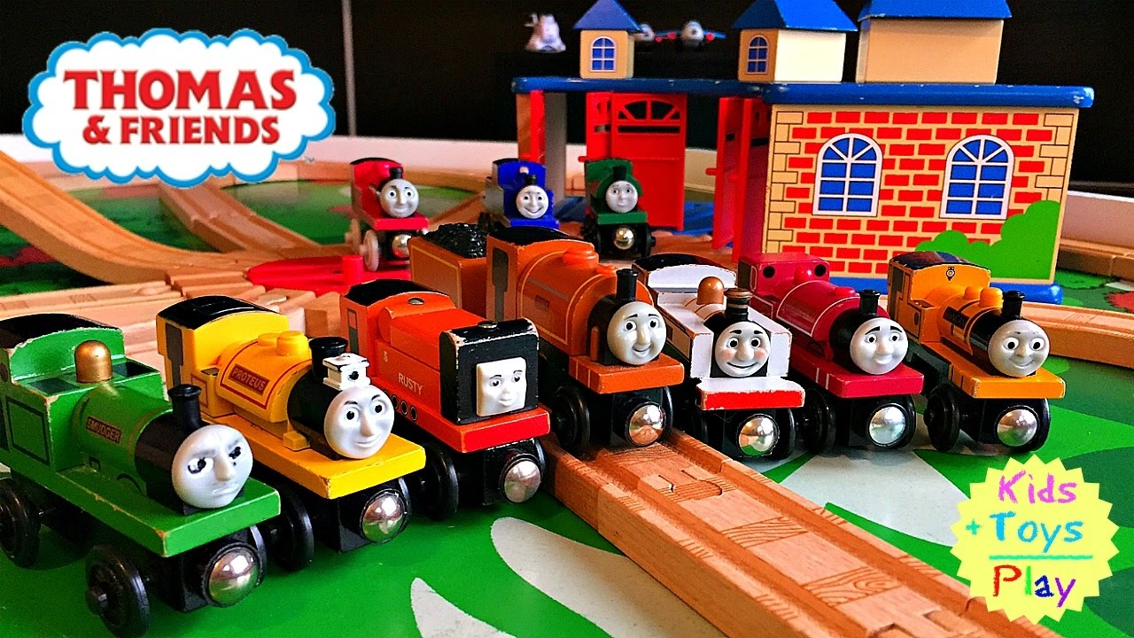Thomas And Friends Wood Play Table Narrow Gauge Engines
