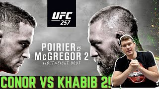 UFC Fighter Predicts! Dustin Poirier VS Conor McGregor 2 | UFC 257