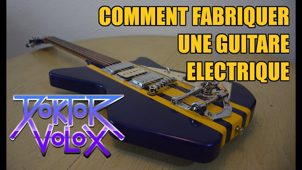 Download Fabrication d'une guitare électrique (inspiration airline) avec un petit budget 150€! tuto lutherie