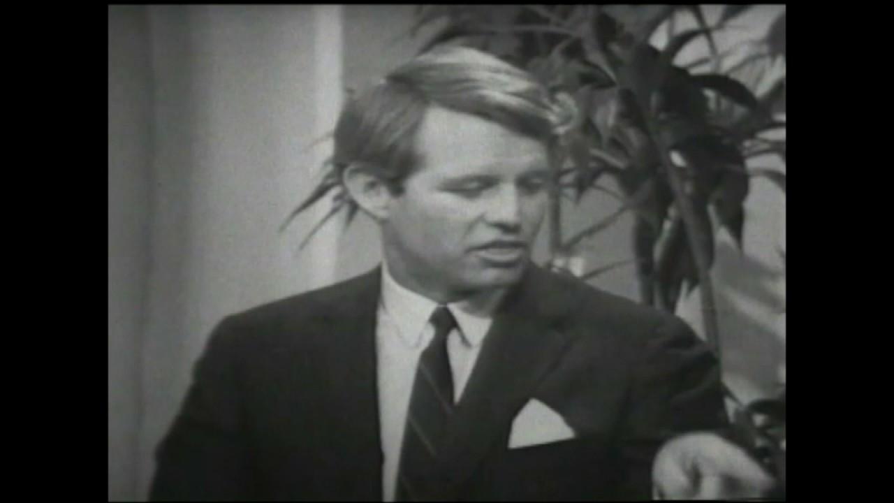 Bobby kennedy speech movie