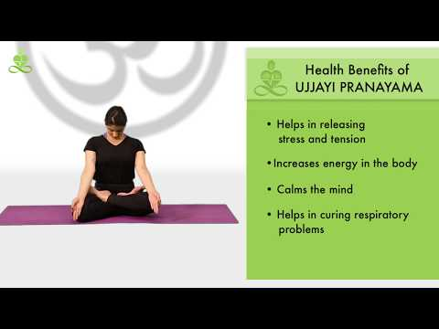 How to do Ujjayi Pranayama (Victorious Breathing) in Yoga