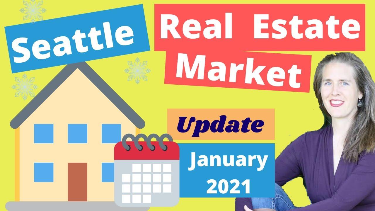 January 2021 Seattle Real Estate Market Update: Seattle vs Bellevue vs Everett vs Tacoma, Washington