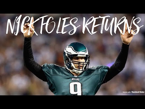 Nick Foles Debuts With His New Team 🙏