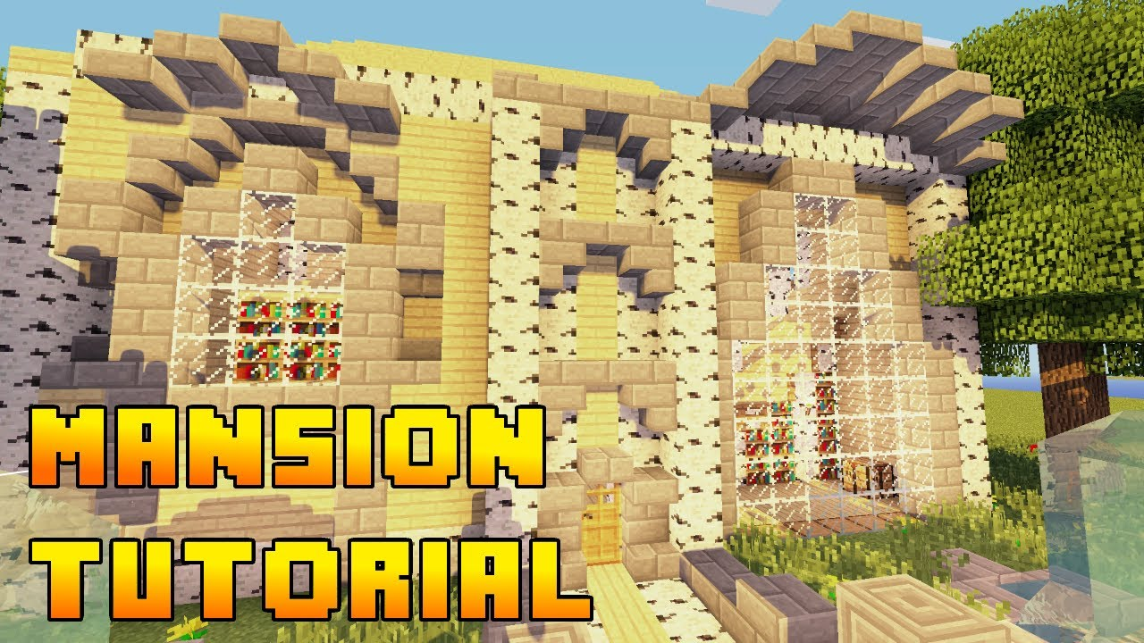 Minecraft - Mansion Build Tutorial Xbox/PS3/PE/PC (Quick and Easy ...